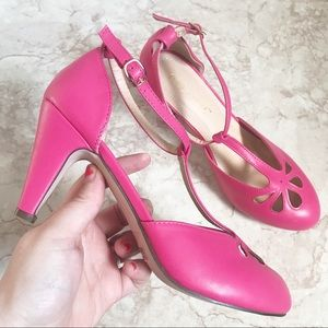 Chase + Chloe Kimmy Heels Vintage Flair Size 8.5